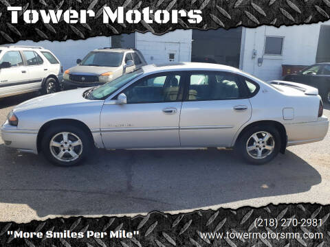 2004 Chevrolet Impala for sale at Tower Motors in Brainerd MN