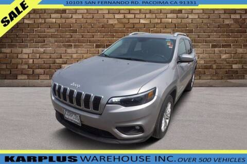 2019 Jeep Cherokee for sale at Karplus Warehouse in Pacoima CA