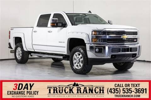 2015 Chevrolet Silverado 3500HD for sale at Truck Ranch in Twin Falls ID