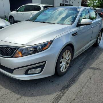 2015 Kia Optima for sale at M & M Auto Brokers in Chantilly VA