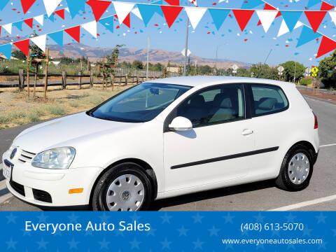 2009 Volkswagen Rabbit for sale at Everyone Auto Sales in Santa Clara CA
