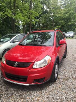 2009 Suzuki SX4 Crossover for sale at Noble PreOwned Auto Sales in Martinsburg WV