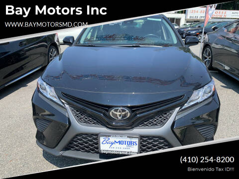 2018 Toyota Camry for sale at Bay Motors Inc in Baltimore MD