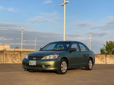 2004 Honda Civic for sale at Rave Auto Sales in Corvallis OR