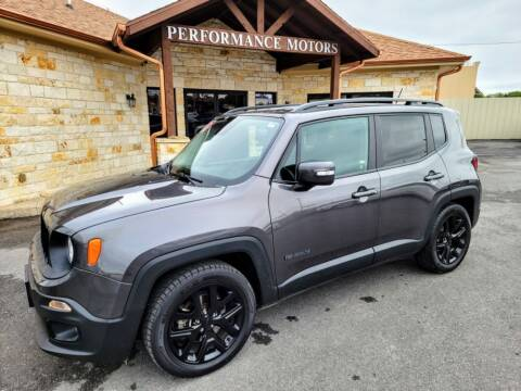 2017 Jeep Renegade for sale at Performance Motors Killeen Second Chance in Killeen TX