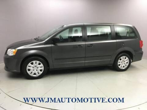 2015 Dodge Grand Caravan for sale at J & M Automotive in Naugatuck CT