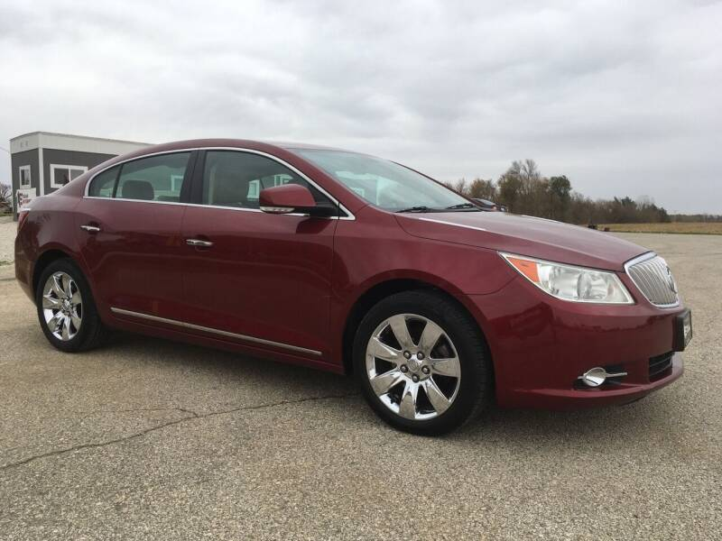 2011 Buick LaCrosse for sale at Kuhn Enterprises, Inc. in Fort Atkinson IA