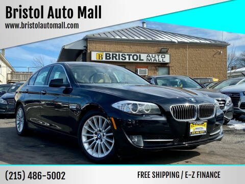 2013 BMW 5 Series for sale at Bristol Auto Mall in Levittown PA