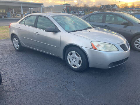 2007 Pontiac G6 for sale at McCully's Automotive - Under $10,000 in Benton KY