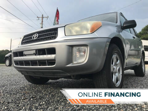 2003 Toyota RAV4 for sale at Prime One Inc in Walkertown NC