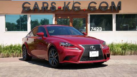 2014 Lexus IS 250 for sale at Cars-KC LLC in Overland Park KS