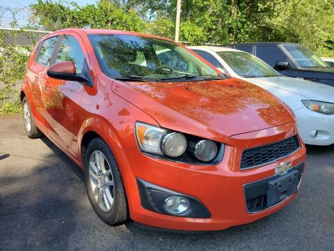 2012 Chevrolet Sonic for sale at New Plainfield Auto Sales in Plainfield NJ