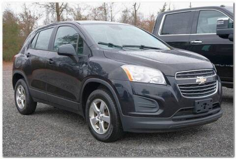 2015 Chevrolet Trax for sale at WHITE MOTORS INC in Roanoke Rapids NC