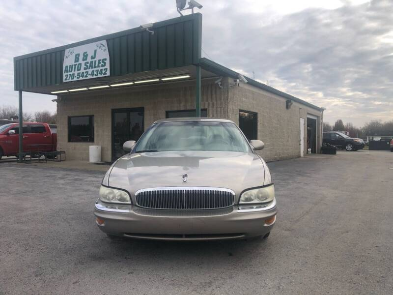 2002 Buick Park Avenue for sale at B & J Auto Sales in Auburn KY