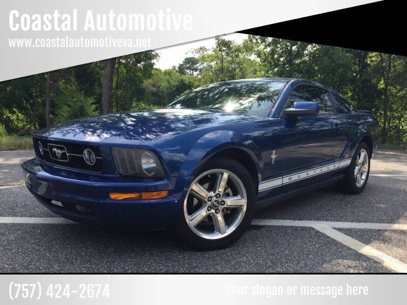 2008 Ford Mustang for sale at Coastal Automotive in Virginia Beach VA