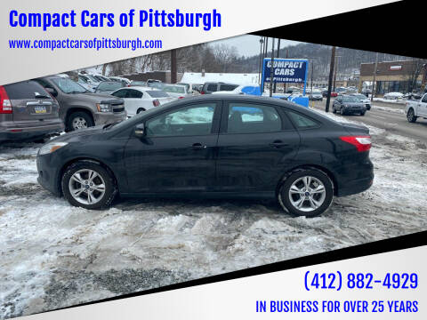 2013 Ford Focus for sale at Compact Cars of Pittsburgh in Pittsburgh PA