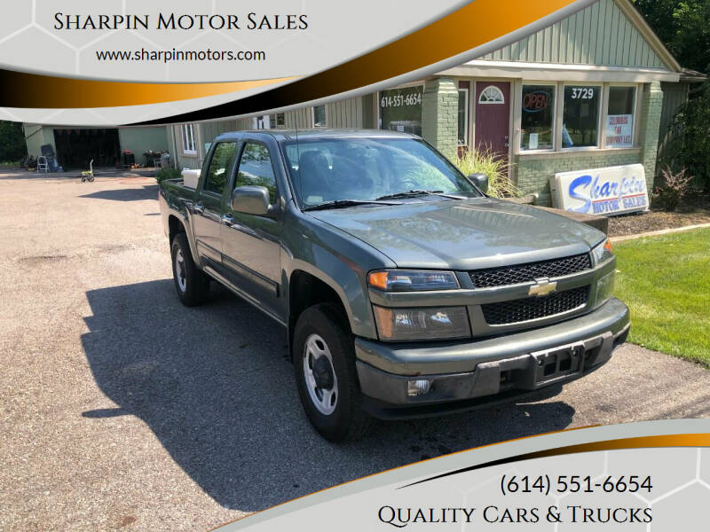 2011 Chevrolet Colorado for sale at Sharpin Motor Sales in Columbus OH