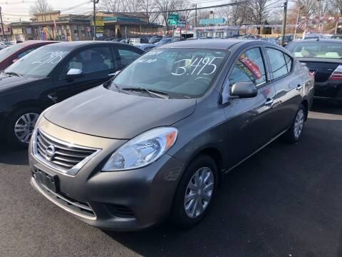 2014 Nissan Versa for sale at BIG C MOTORS in Linden NJ