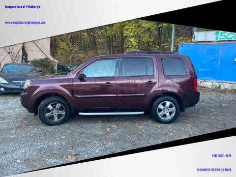 2011 Honda Pilot for sale at Compact Cars of Pittsburgh in Pittsburgh PA