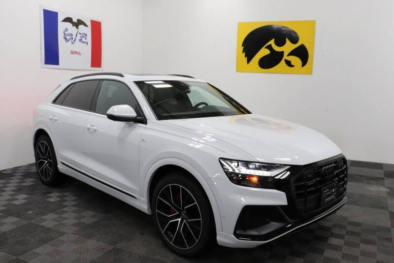 2021 Audi Q8 for sale at Carousel Auto Group in Iowa City IA