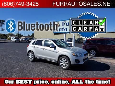 2014 Mitsubishi Outlander Sport for sale at FURR AUTO SALES in Lubbock TX