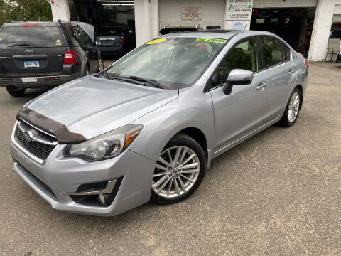 2015 Subaru Impreza for sale at East Windsor Auto in East Windsor CT