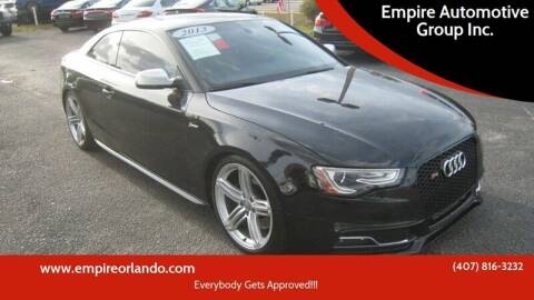 2013 Audi S5 for sale at Empire Automotive Group Inc. in Orlando FL