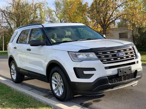 2016 Ford Explorer for sale at A.I. Monroe Auto Sales in Bountiful UT