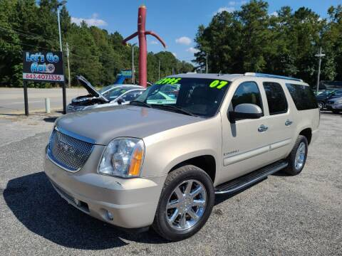 2007 GMC Yukon XL for sale at Let's Go Auto in Florence SC