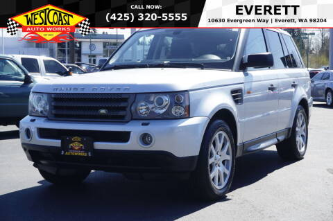 2008 Land Rover Range Rover Sport for sale at West Coast Auto Works in Edmonds WA