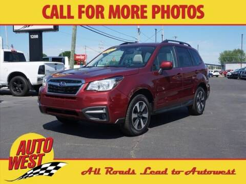 2017 Subaru Forester for sale at Autowest of GR in Grand Rapids MI