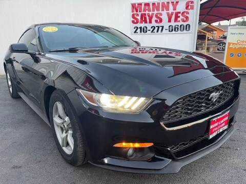 2015 Ford Mustang for sale at Manny G Motors in San Antonio TX
