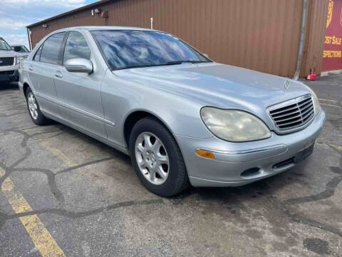 2002 Mercedes-Benz S-Class for sale at Best Auto & tires inc in Milwaukee WI