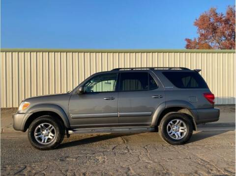 2005 Toyota Sequoia for sale at Dealers Choice Inc in Farmersville CA