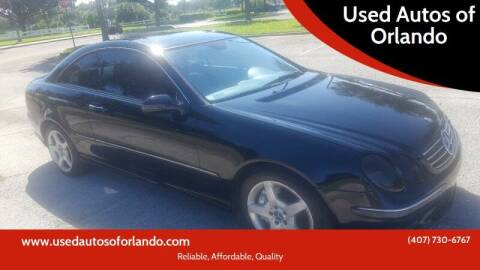 2005 Mercedes-Benz CLK for sale at Used Autos of Orlando in Orlando FL