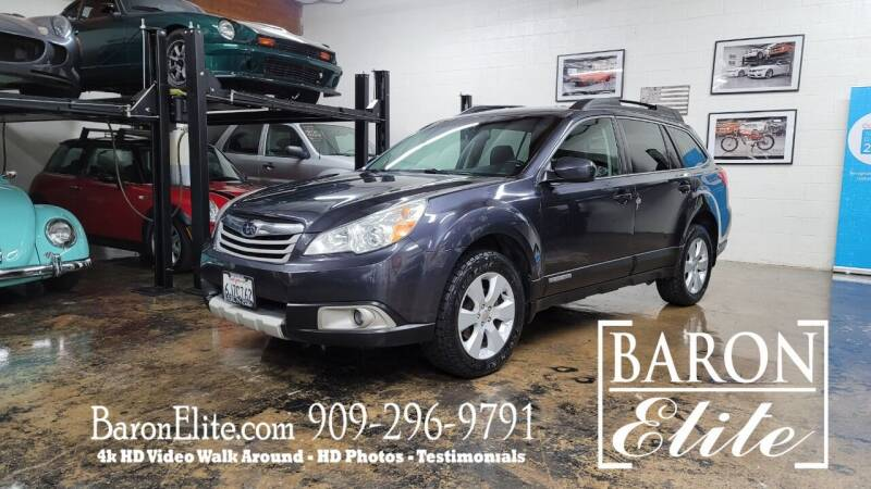 2010 Subaru Outback for sale at Baron Elite in Upland CA
