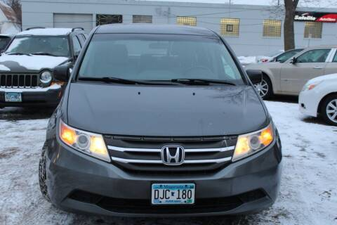 2013 Honda Odyssey for sale at Rochester Auto Mall in Rochester MN