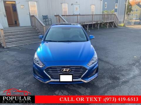 2018 Hyundai Sonata for sale at Popular Auto Mall Inc in Newark NJ