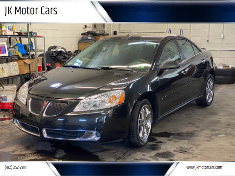 2009 Pontiac G6 for sale at JK Motor Cars in Pittsburgh PA