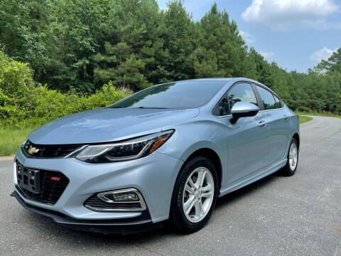 2017 Chevrolet Cruze for sale at Carrera AutoHaus Inc in Clayton NC