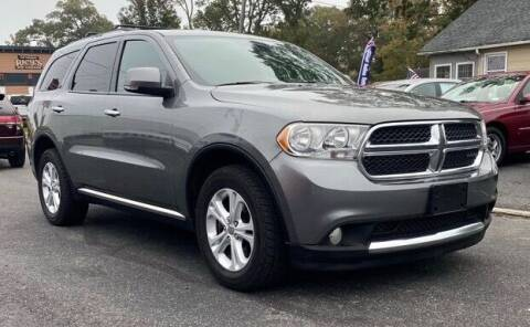 2013 Dodge Durango for sale at CANDOR INC in Toms River NJ