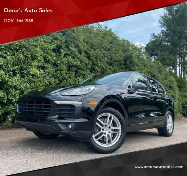 2016 Porsche Cayenne for sale at Omar's Auto Sales in Martinez GA