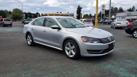 2012 Volkswagen Passat for sale at Good Guys Used Cars Llc in East Olympia WA