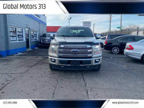 2017 Ford F-150 for sale at Global Motors 313 in Detroit MI