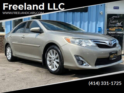 2013 Toyota Camry for sale at Freeland LLC in Waukesha WI