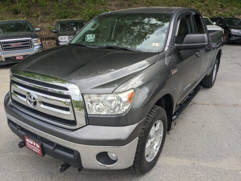 2012 Toyota Tundra for sale at AUTO CONNECTION LLC in Springfield VT