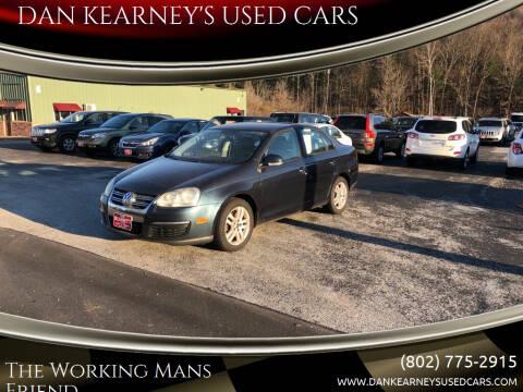 2008 Volkswagen Jetta for sale at DAN KEARNEY'S USED CARS in Center Rutland VT