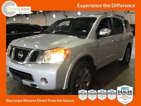 2013 Nissan Armada for sale at Dallas Auto Finance in Dallas TX