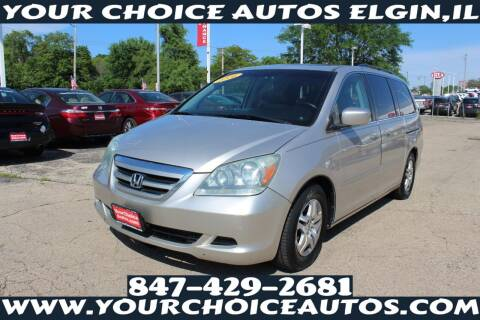 2006 Honda Odyssey for sale at Your Choice Autos - Elgin in Elgin IL