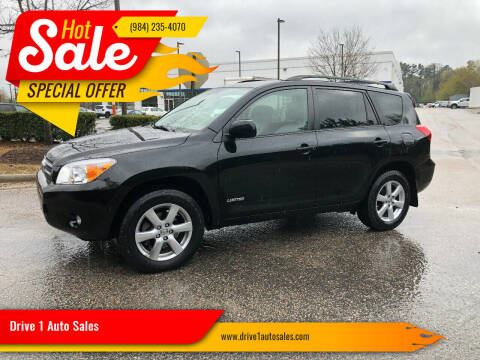 2008 Toyota RAV4 for sale at Drive 1 Auto Sales in Wake Forest NC